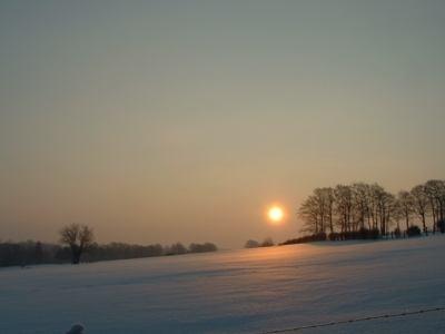 zonsopgang wirtzfeld