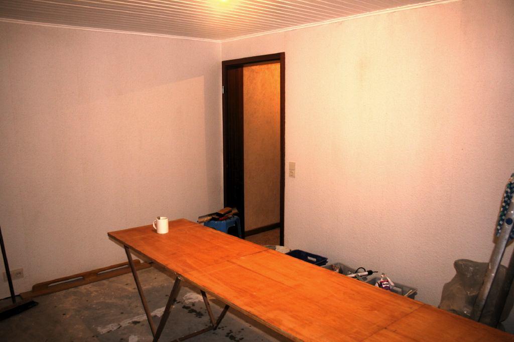 Keukenkasten Behangen : De volgende fase wordt nu het verven van de ...