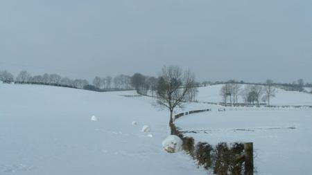 dikke sneeuwballen