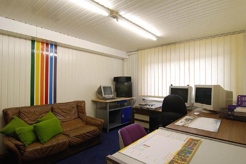 Ons computerlab voor de individuele internet cursussen.