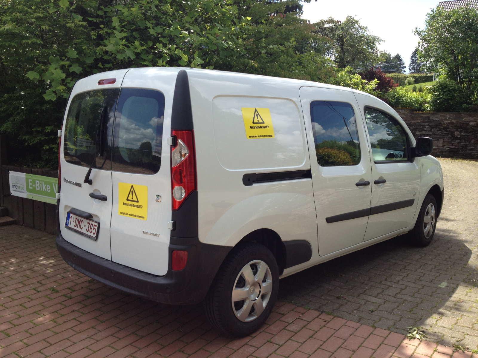 Onze Elektrische Bestelwagen Renault Kangoo Maxi Z E Welcome To