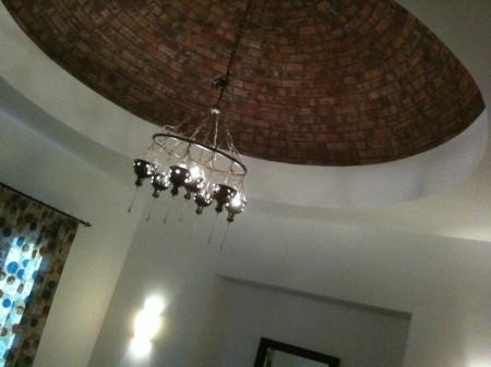 nubisch plafond in de slaapkamer
