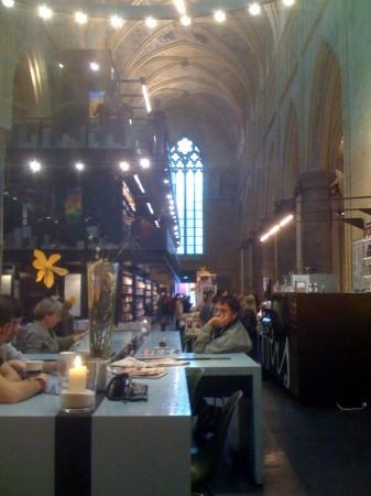 De mooiste boekhandel van Nederland was vroeger een kerk