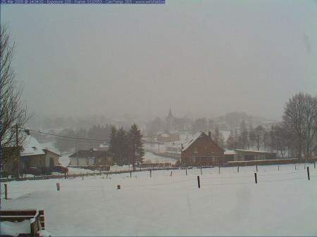 het sneeuwt opnieuw